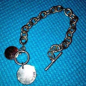 Silver Guess bracelet